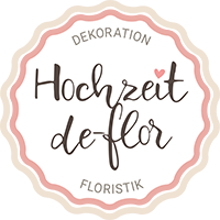 Logo Hochzeit de-flor
